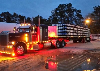 GT 70 Blue Flat Top 2006 Peterbilt 379